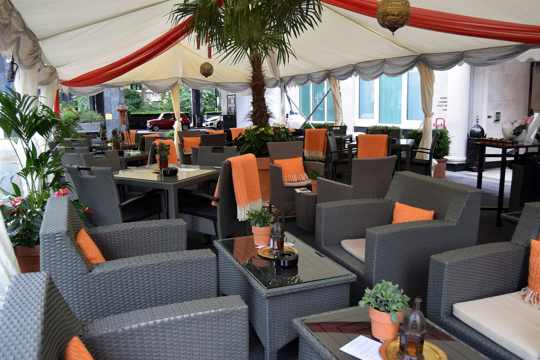Montagu Terrace Tent
