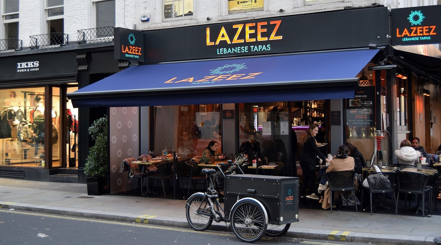 Lazeez Winter Terrace