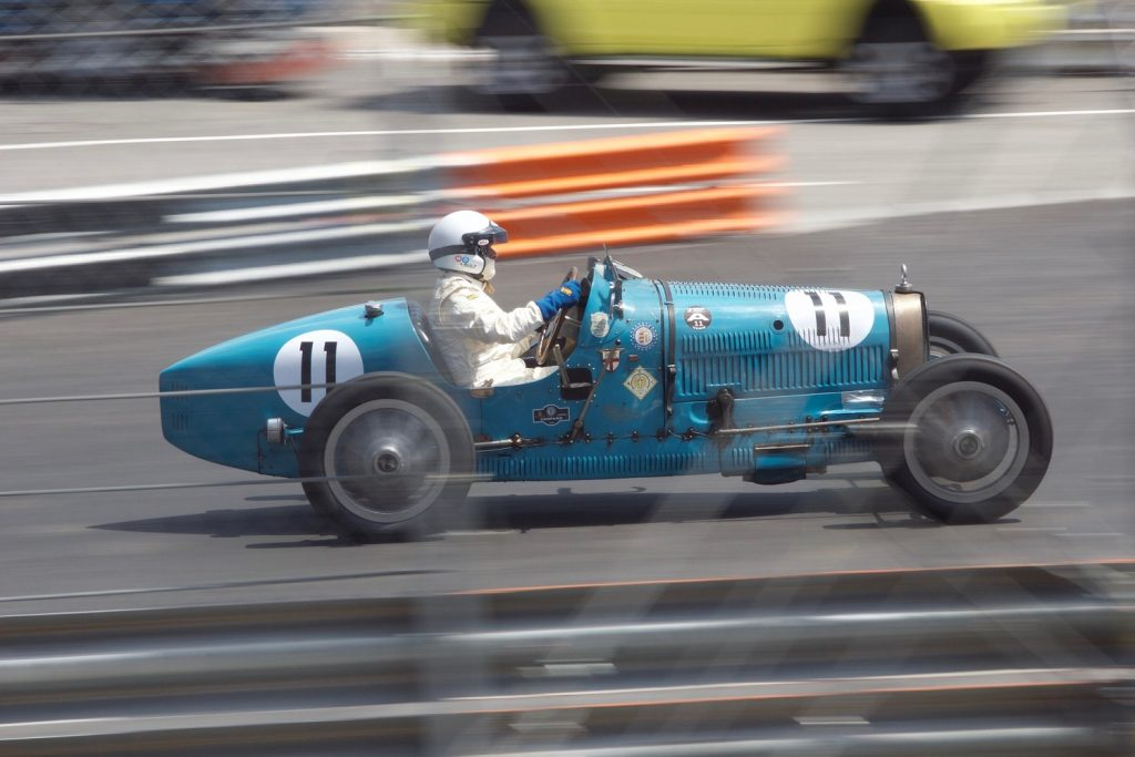 Historic Racing at Monaco