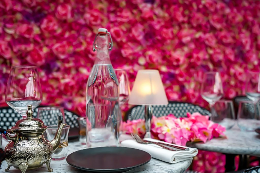Tea on Parisian Terrace