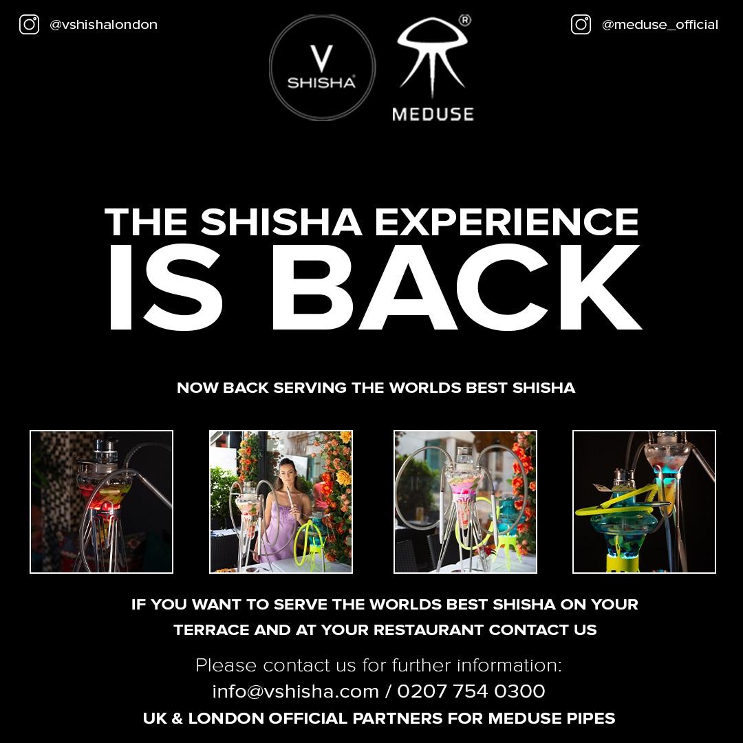 Shisha is back flyer - Aug 2021
